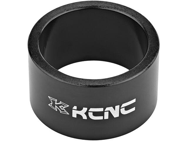 """KCNC Headset Spacer 1 1/8"""" 20mm schwarz"""